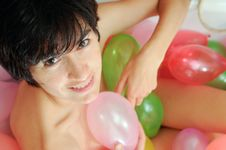 Free Naughty Balloon Stock Image - 19906611