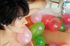 Free Naughty Balloon Royalty Free Stock Photography - 19906647