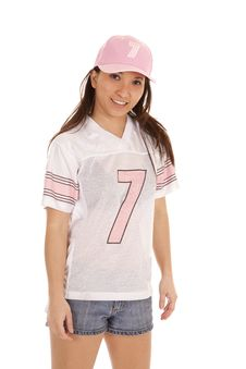 Free Football Pink Smile Stock Photos - 19906853