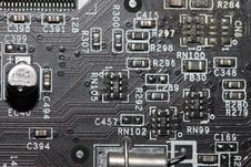 Free Computer Mainboard Components Stock Photos - 19906863