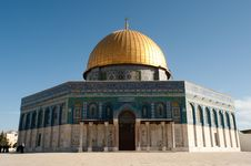 Free Dome Of The Rock Royalty Free Stock Image - 19906926