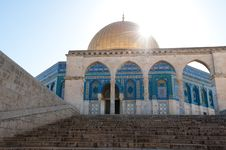 Free Dome Of The Rock Royalty Free Stock Image - 19906986