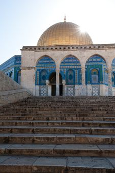 Free Dome Of The Rock Royalty Free Stock Photography - 19906997