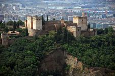 Free Aerial View Of Granada Stock Image - 19907651