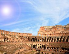 Free Architecture Colosseum Rome Royalty Free Stock Images - 19907799