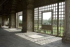 Window Light Pattern Stock Photography