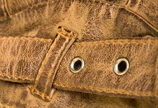 Free Leather Strap Showing Texture Royalty Free Stock Photo - 19908225