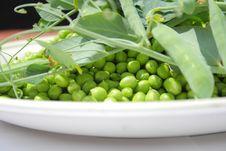 Free Green Peas Stock Image - 19908711
