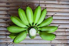 Free Green Banana Stock Images - 19908824