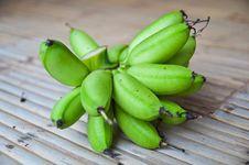 Free Green Banana Stock Photos - 19908833
