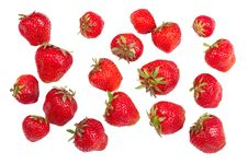 Free Ripe Strawberries Royalty Free Stock Photos - 19908928