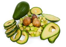 Free Composition Of Avocado Stock Image - 19908961