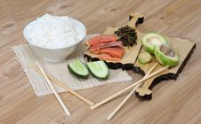 Free Products For Sushi Stock Photo - 19908980