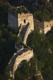 Great Wall Of China-Jiankou Stock Photography