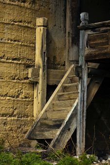 Free Old Stairs Royalty Free Stock Photography - 19909317