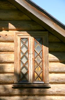 Free Old Window Royalty Free Stock Photo - 19909945