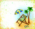 Free Drawing Of Chaise Lounge Stock Photos - 19910693