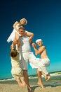 Free Happy Family. Royalty Free Stock Photography - 19912877