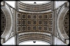 Free Arc De Triomphe Ceiling Royalty Free Stock Photos - 19910408
