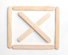 Wooden Signs Stock Images