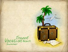 Free Vacation Background Stock Images - 19911424