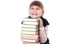 Free Schoolgirl With Books I Stock Images - 19912074