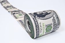 Free Dollars Per Roll. Royalty Free Stock Images - 19912569