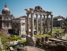 Free Arch Antique Statues In Rome Stock Photos - 19912583