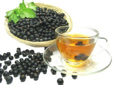 Free Fruit Tea With Black Currant Extract Stock Photos - 19912633