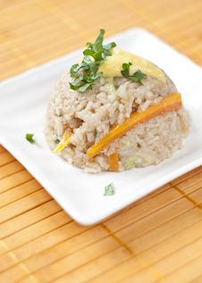 Free Rice With Vegetables Stock Photography - 19913052