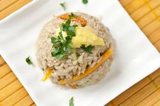 Free Rice With Vegetables Royalty Free Stock Photography - 19913057