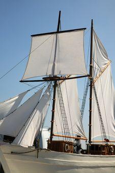 Boat Sail Royalty Free Stock Photos