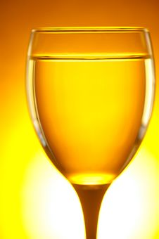 Free Yellow Glass Royalty Free Stock Image - 19914306