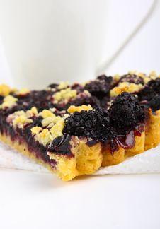 Blackberry Pie Royalty Free Stock Image