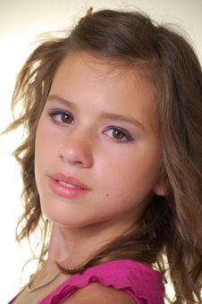 Beautiful Teenager Stock Images