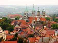 Free Naumburg, Germany : City View Royalty Free Stock Image - 19914806