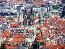 Free Prague: City View Stock Photo - 19915160
