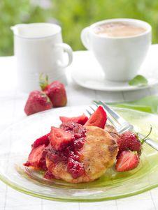 Free Pancakes Stock Photography - 19915242