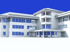 Free Modern Light Building Royalty Free Stock Image - 19915246