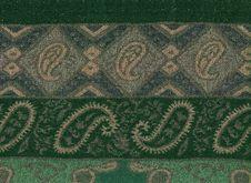 Free Green Pashmina Shawl Stock Image - 19915421