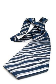 Free Black Striped Tie Royalty Free Stock Photos - 19915858
