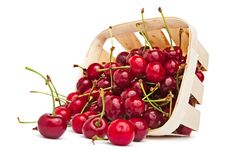 Free Scattered Cherries Stock Photos - 19915913