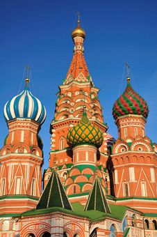 Free St. Basil S Cathedral. Moscow. Stock Photo - 19916280