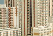 Free Packed Hong Kong Apartment Blocks Stock Photography - 19916362