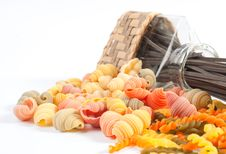 Free Different Kinds Of Italian Pasta Stock Photos - 19917743