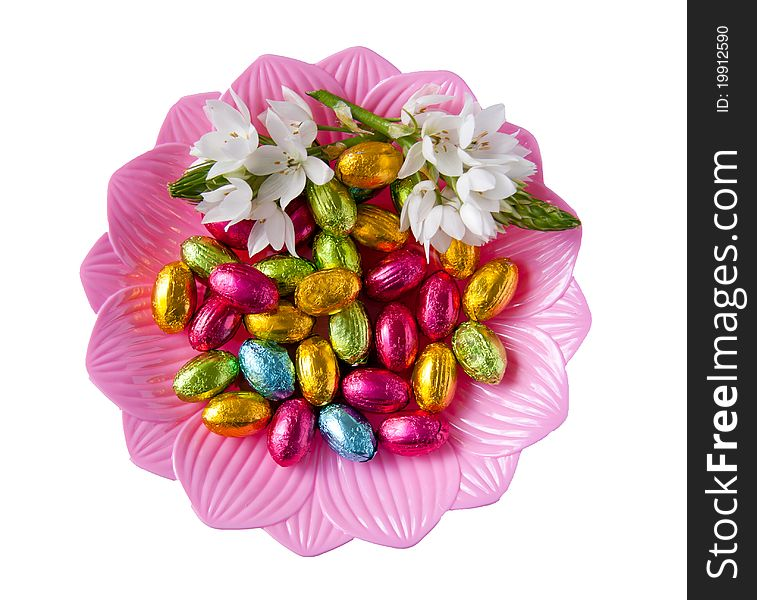 Chocolate and flowers