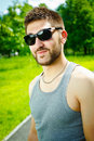 Free Young Man In Sunglasses Stock Photography - 19924712