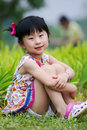 Free Chinese Lovely Girl Stock Images - 19928264