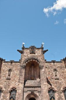 Free Edimburgh Castle, The Scottish War Memorial Stock Photo - 19920090