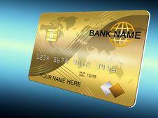 Free Golden Card Stock Photo - 19920150